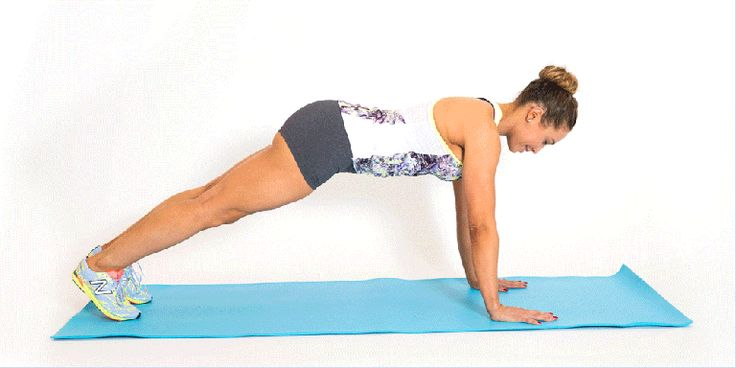 The Trick to Mastering a Real Push-Up  - Cosmopolitan.com