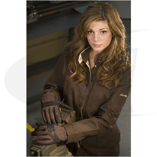 Velvetarc™ Fire Resistant Women's Welding Jacket | eBay