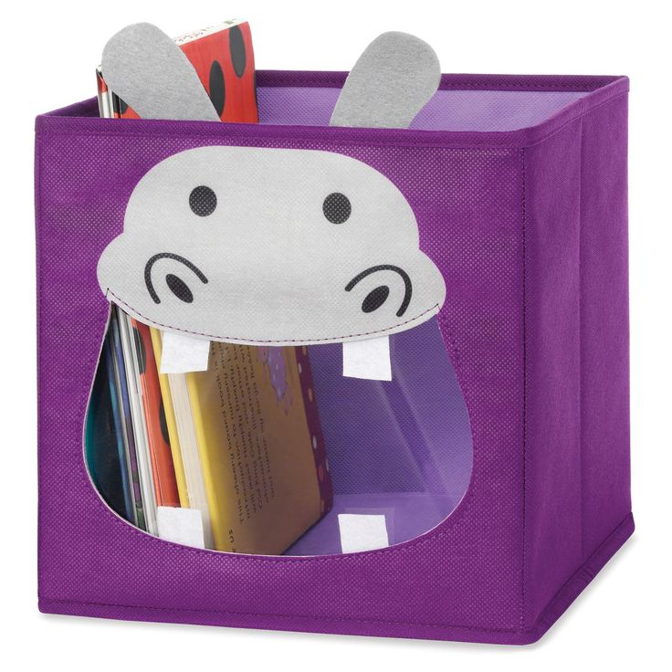 Whitmor Hippo Collapsible Storage Cube - 2194-0051