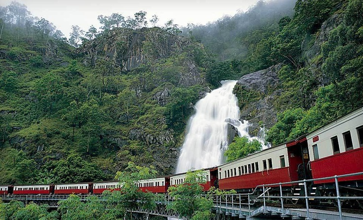 Kuranda Scenic Railway train ride, Australia