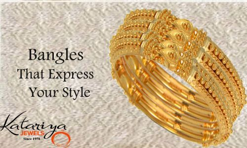 Imperial Gold Bangle in 22Kt  Buy Now :http://buff.ly/1K4zWbK COD Option Available With Free Shipping In India