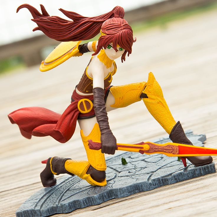 RWBY Pyrrha Figure | Rooster Teeth Store