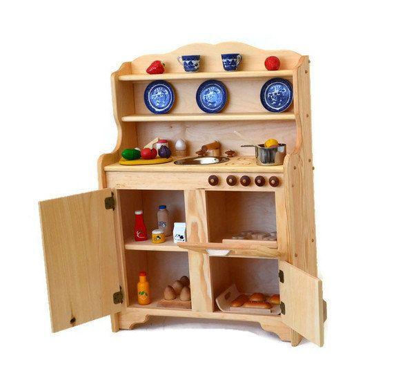 Best 25+ Wooden Toy Kitchen Ideas On Pinterest