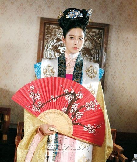 Faith: the great doctor - Park Se Young as Queen No-Goo #Kdrama 2012