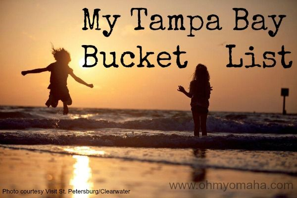 Fun things to see and do in the Tampa Bay area #Florida