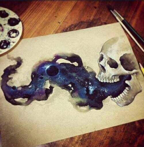 Space Skull/ Idea