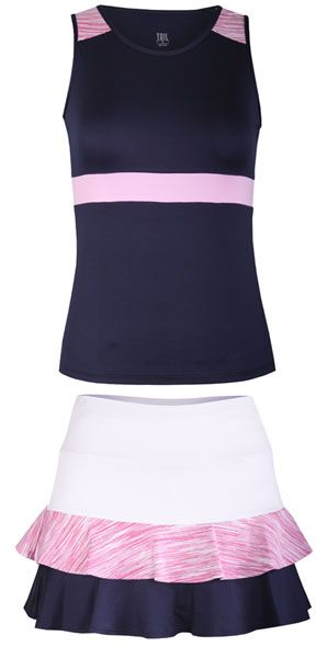 We've got a pretty new Desert Springs Tail Ladies & Plus Size Tennis Outfit for ya! Check 'em out! #Tennis #Fashion #Ootd #LorisGolfShoppe