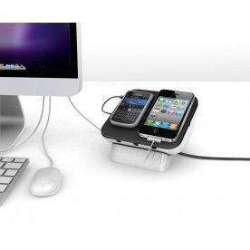 Lose the wires taking over your home - use the SynCharger Mini to charge devices and reduce the mess.