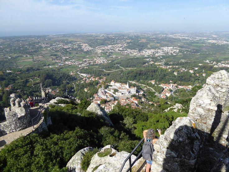 Sintra - Castelo dos Mouros - Portugal