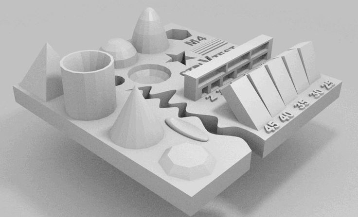 Test your 3D printer! by ctrlV.