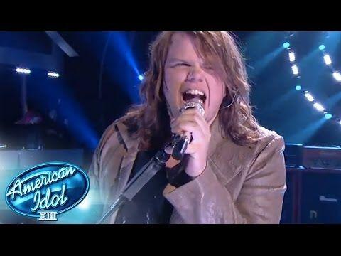 "I frackin' lurve me some Caleb Johnson ...he killed it last night on Idol! :) Whitesnake ""Still of the Night"" - AMERICAN IDOL SEASON XIII"