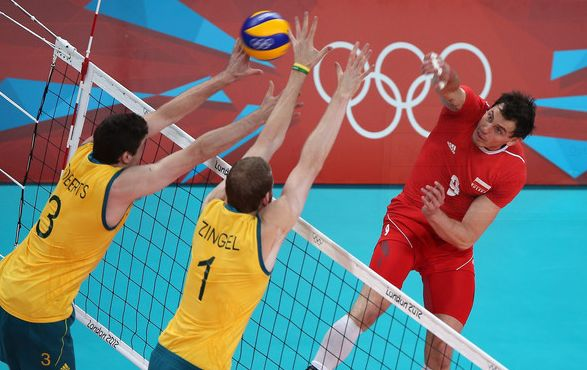 Rio 2016 Summer Olympics Men's Volleyball Schedule PDF