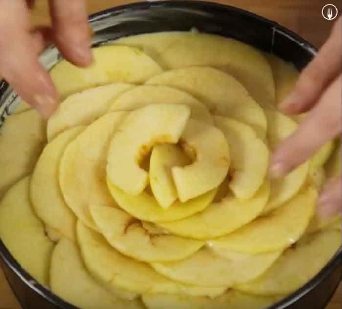 Tarta de Manzana - Recetas de Cocina Casera - Recetas fáciles y sencillas