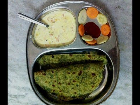 Palak Paratha - Inika's Kitchen