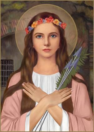 St Philomena Patron Saint of Children; youth; babies; infants; priests; lost causes; sterility, and virgins    Feast day August 11