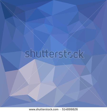 Low polygon style illustration of a powder blue abstract geometric background. #abstractbackground #lowpolygon #illustration