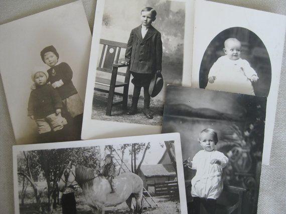 Vintage children up for adoption  5 sepia by VintageVagabondToo
