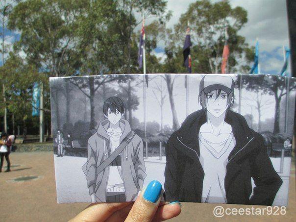 Free! Iwatobi Swim Club anime vs reality