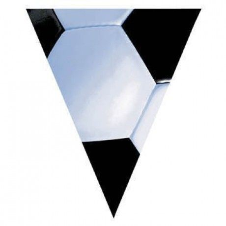 Soccer Pennant Banner | 12 ft. for $3.90 in Soccer - Sports - Theme & Event Parties