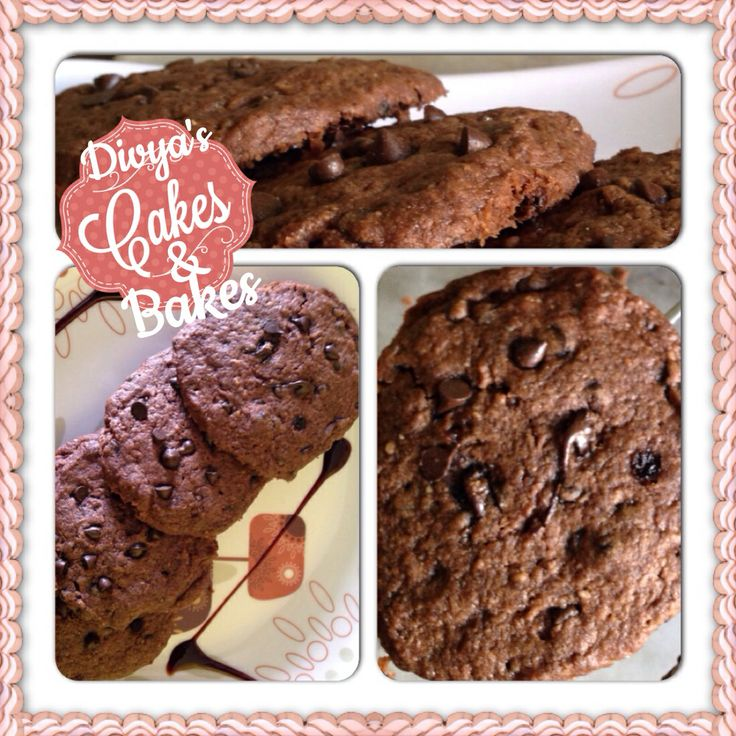 Yummy fresh choco chip cookies