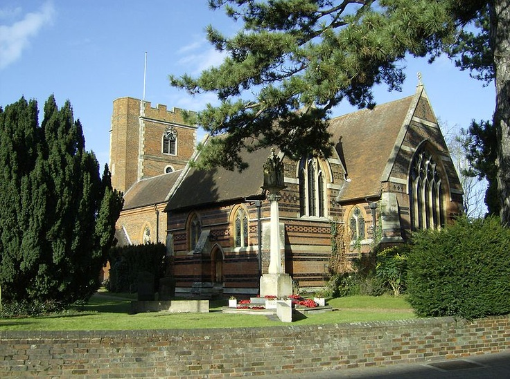 Chalfont St Peter Church, UK. This is where my wedding will be, same where my parents got married! Its quaint and very romantic!