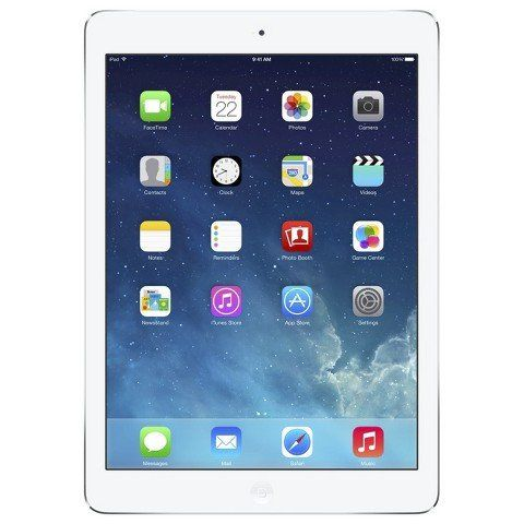 Apple iPad Air 16GB Wi-Fi – Silver/White (MD788LL/B)