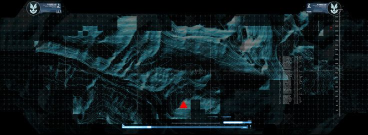 Blur Studios Halo 2 Anniversary Cinematic Timothy Williams GUI map