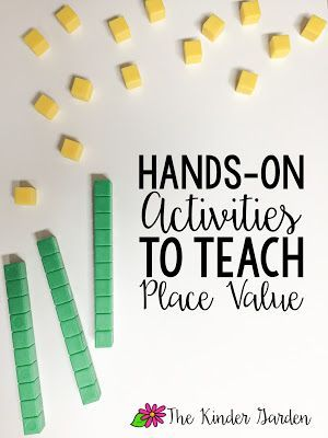 Lots of good hands on activities for teaching place value in the earlier grades (some ideas could be fairly easily adapted to use with older kids as well).