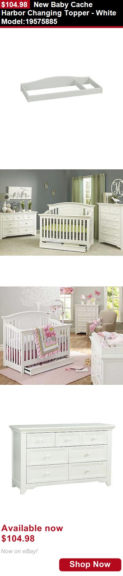 Nursery Furniture Sets: New Baby Cache Harbor Changing Topper - White Model:19575885 BUY IT NOW ONLY: $104.98