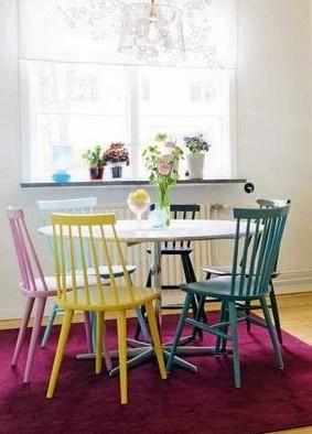 MemaMind: Cadeiras coloridas
