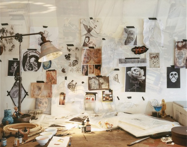Creative workspace.
