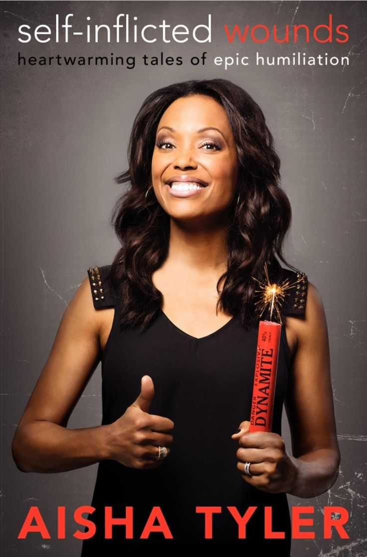 "Aisha Tyler is 6'0 ""A book written by a comedian"""