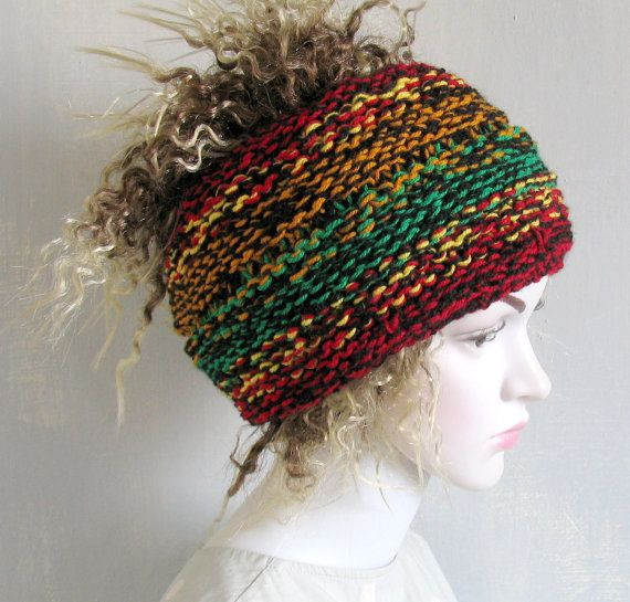 Knit Dreadlocks accessory Mens dreadlock tube hat Womens Hat