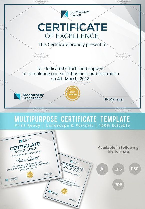 Corporate Certificate Template Stationery Templates Pinterest