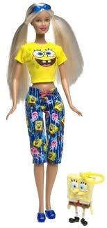 Spongebob barbie girl