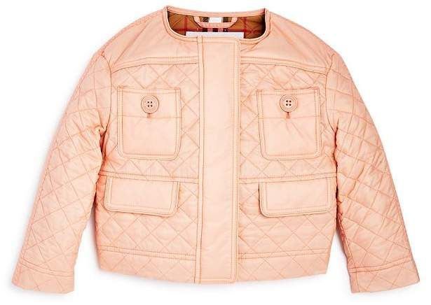 quilted peach jacket online