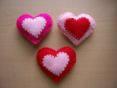 Felt Valentine Crafts