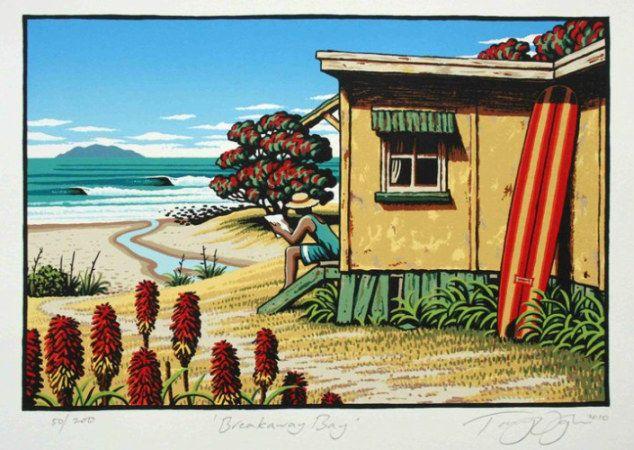 Breakaway Bay, by Tony Ogle