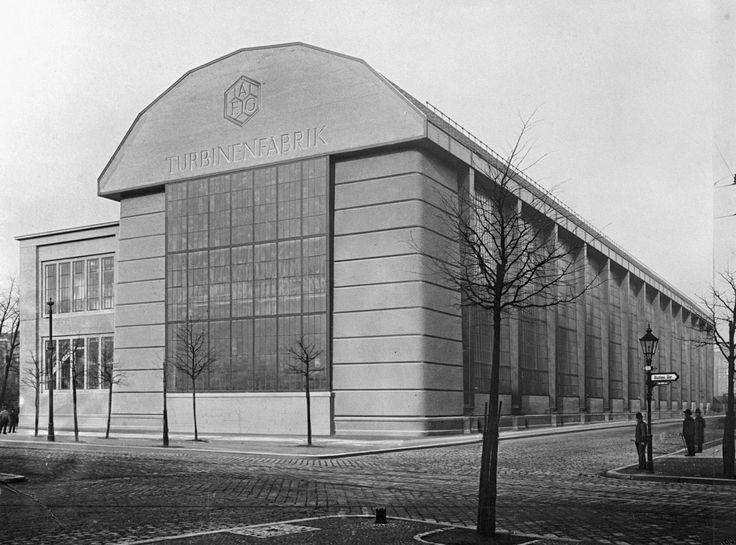 peter behrens turbinenfabrik 1909 la turbinenfabrik. Black Bedroom Furniture Sets. Home Design Ideas