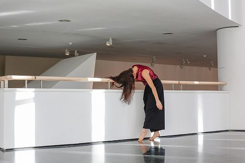 The soul of the dancer, photography project in #mart museum