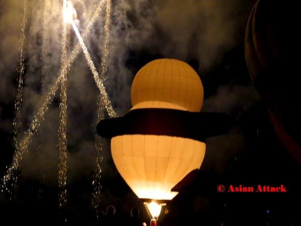 Night Glow – Hot-Air Balloon Festival Thailand