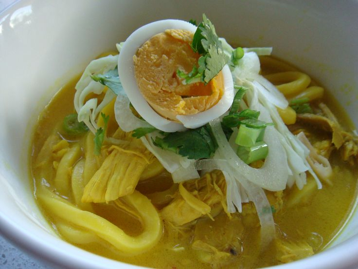 Burmese curry soup