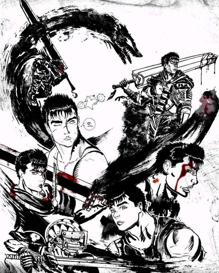 Manga and anime Berserk! The history of the formation of