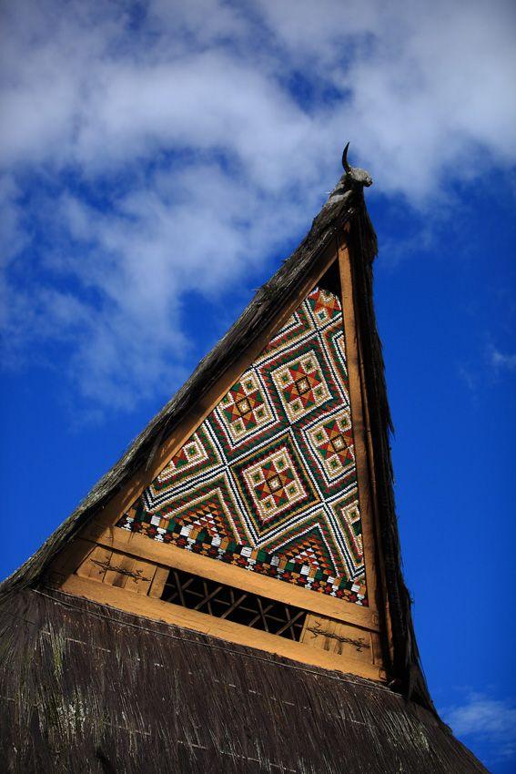 Sumatra Karo-batak house