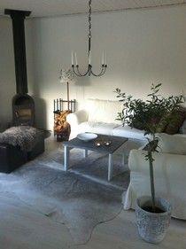 Lilla sommarstugan: Så mysigt i vardagsrummet
