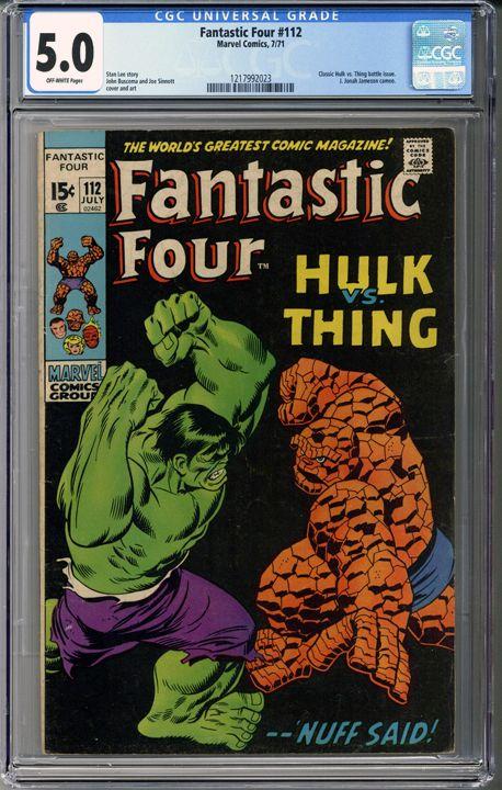 Fantastic Four #1... ...can be yours! #comics    http://coloradocomics.com/products/fantastic-four-112-cgc-5-0?utm_campaign=social_autopilot&utm_source=pin&utm_medium=pin