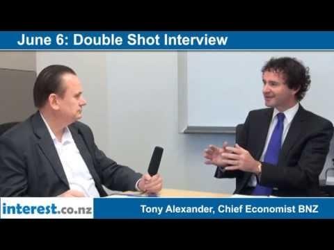 Double Shot Interview with Tony Alexander, Chief Economist BNZ - June 6