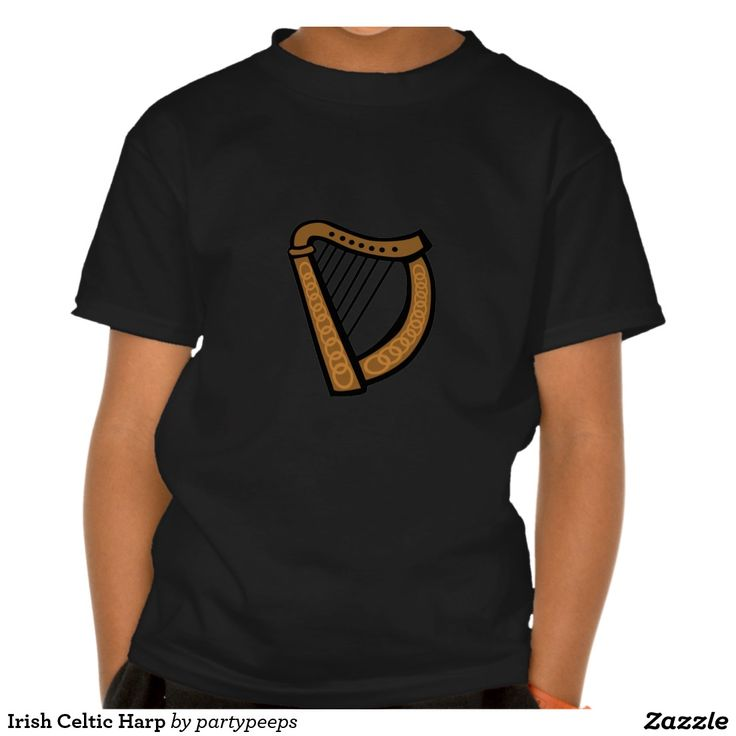 Irish Celtic Harp T Shirt