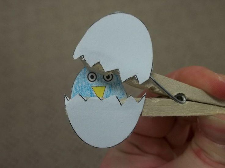 Bird craft for Preschool Storytime