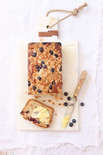 Good Morning Blueberry & Apple Streusel